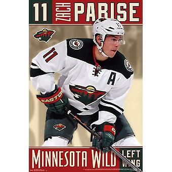 Minnesota Wild & Reg - Z Parise 13 Poster Print