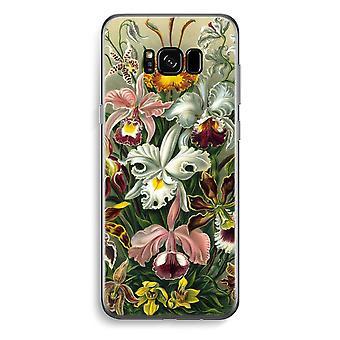 Samsung Galaxy S8 Transparent Case - Haeckel Orchidae