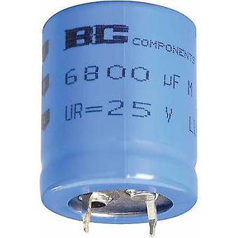 Electrolytic capacitor Snap-in 10 mm 1500 µF 63 V