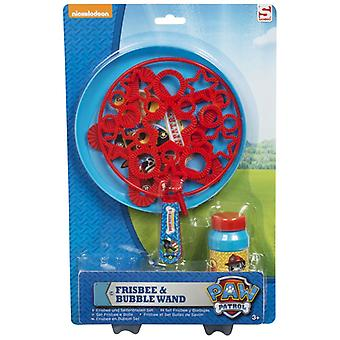 Paw Patrol Frisbee and Giant Bubble Wand