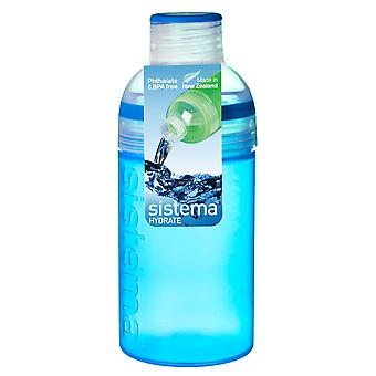 Sistema Trio Drink Bottle 480ml, Blue