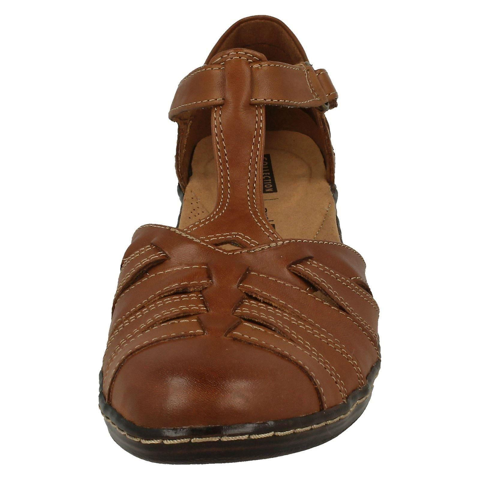 Ladies Clarks Scoop Wedge T-Bar Shoes Shoes Shoes Wendy Alto a1ac31