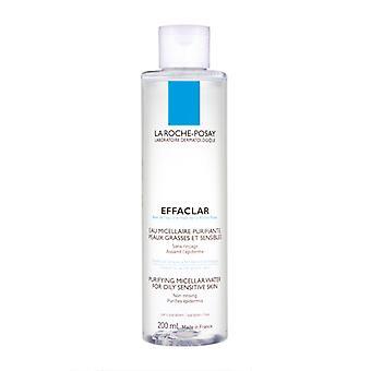 La Roche Posay Effaclar purificando água micélica