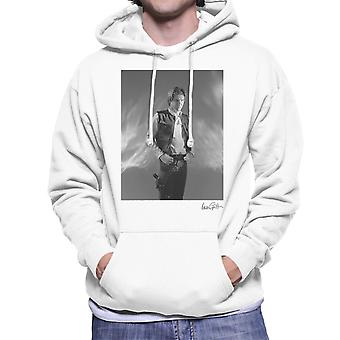 Star Wars Behind The Scenes Han Solo White Men's Hooded Sweatshirt
