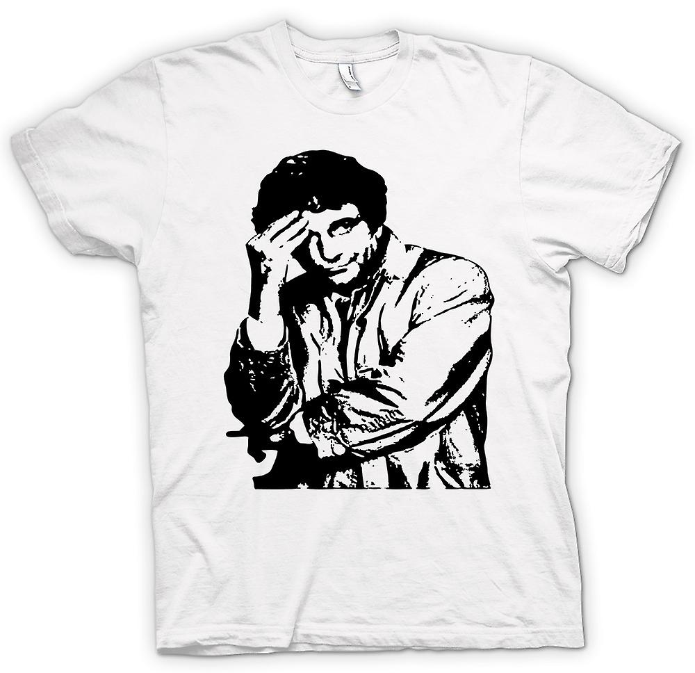 Mens t-shirt - Columbo - BW - Detective classico