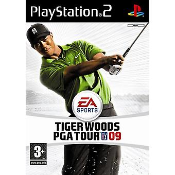 Tiger Woods PGA Tour 09 (PS2) (käytetty)