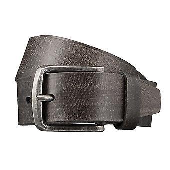 LLOYD Men's Belts Gürtel Herrengürtel Ledergürtel Herrenledergürtel Grau 3421