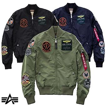 Alpha industries MA-1 jacket TT patch