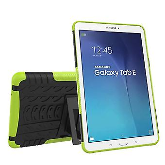 Hybrid outdoor protective cover case green for Samsung Galaxy tab E 9.6 SM T560 T561 bag