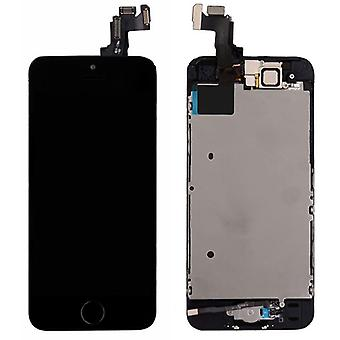 All-in-one display LCD complete replacement unit touch panel for Apple iPhone 5S + Home button black