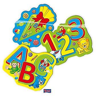 Back to school confetti XL table KONFETTI 24 pieces decorative training children's Party