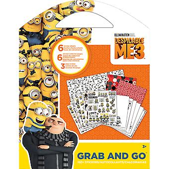 Despicable Me 3 Grab & Go Stickers & Activity Pages-