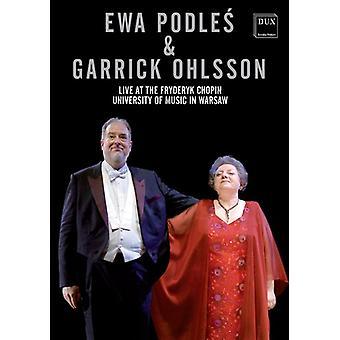 Ewa Podles & Garrick Ohlsson-Live at the Fryderyk [DVD] USA import