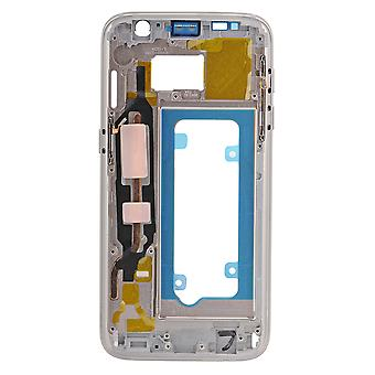 For Samsung Galaxy S7 - SM-G930 - bageste indkapsling Frame - guld