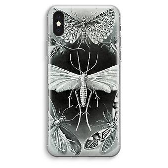 iPhone XS Max Transparent Case (Soft) - Haeckel Tineida