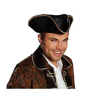 Piraat leder look Pirate hat