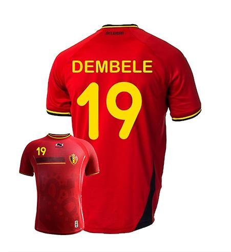 2014-15 Belgium World Cup Home Shirt (Dembele 19) - Kids