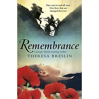 Remembrance by Theresa Breslin - 9780552547383 Book