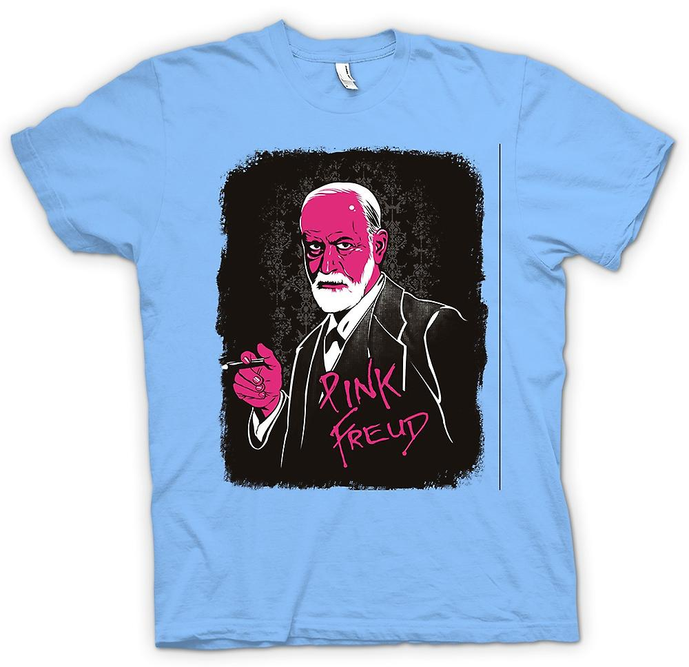Mens t-shirt - Pink Floyd - Sigmund Freud - divertente