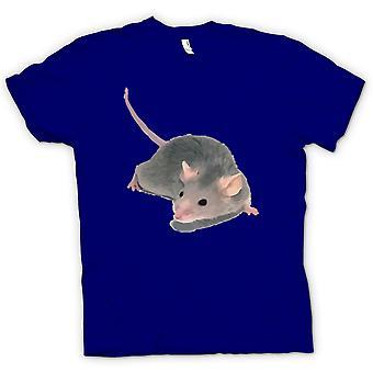 Mens t-shirt-ritratto animale ratto dell'animale domestico