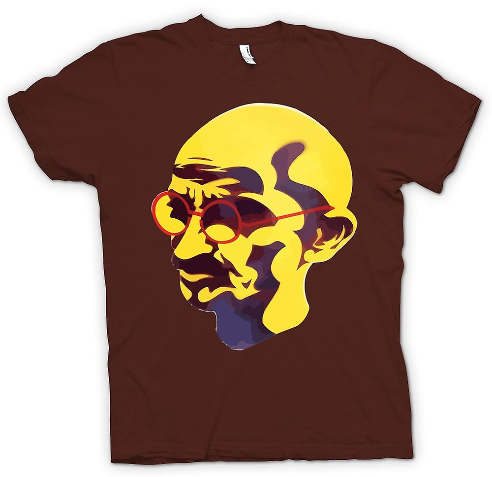 Mens T-shirt - Mahatma Gandhi - Indian Icon