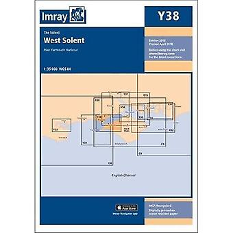 Imray Chart Y38: West Solent (Y Series)