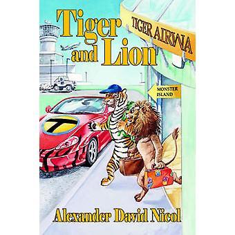 Tiger and Lion by Nicol & Alexander David