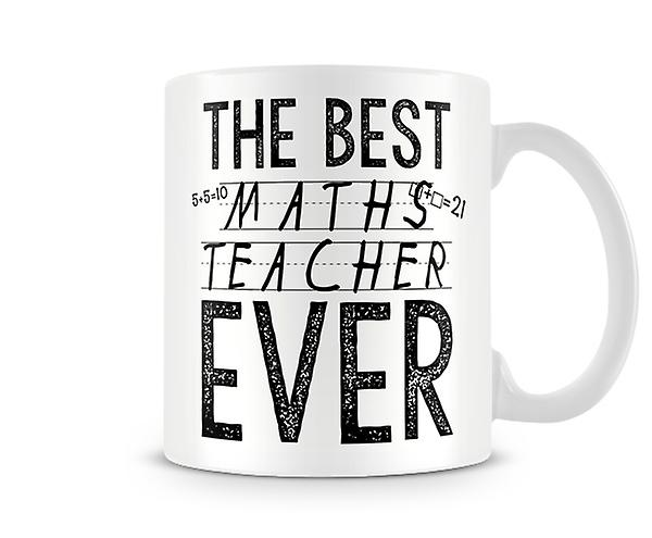 The Best Maths Teacher Ever Mug