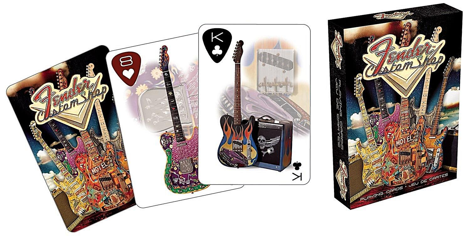 Fender Custom Guitar Shop set of playing cards    (nm)
