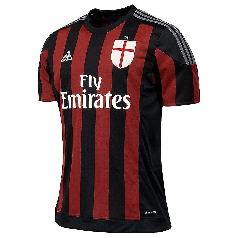 2015-2016 AC Milan Adidas Home Shirt (Kids)