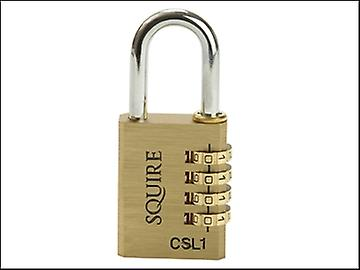 Henry Squire CSL1 Brass Combination Padlock 40mm