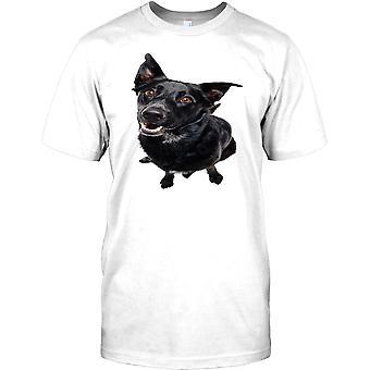 Ultra Cute Mongrel Pet Dog - Heinz 57 Mens T Shirt