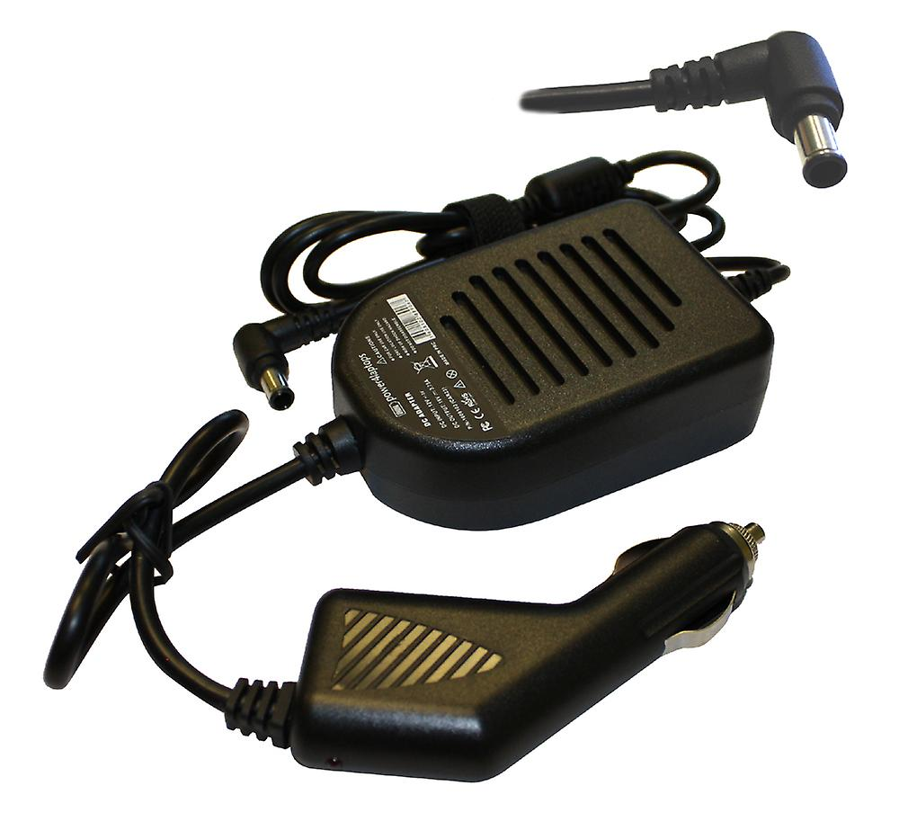 Sony Vaio VPC-EB11FX T portable Compatible aliHommestation DC adaptateur chargeur de voiture