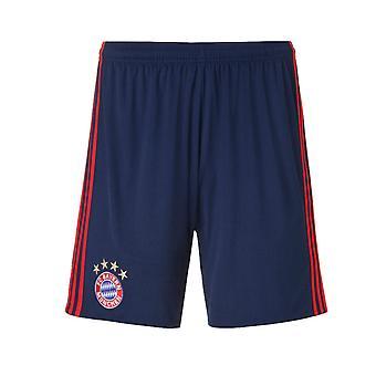 2402220c 2016-2017 Bayern München Adidas hjem keeper Shorts (natt Indigo) - barn