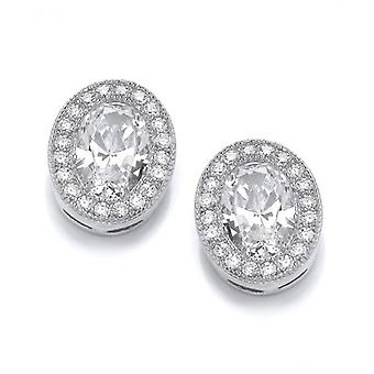 Cavendish French Oval Elegance Earrings