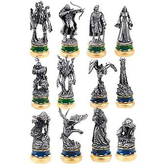 The Two Towers 12 Pewter Chess Character Package