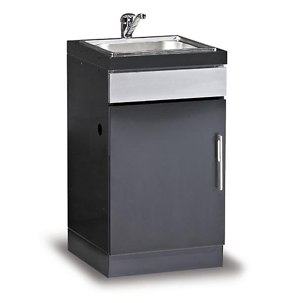 Beefeater Discovery BBQ Kitchen Sink Unit - Charcoal