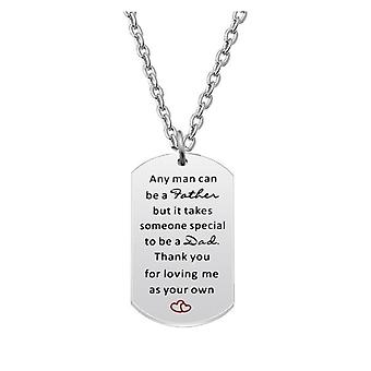 Speciale papa dog tag