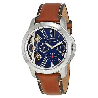 Fossil Grant Chronograph Leather Mens Watch ME1161