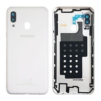 Samsung GH82-20125B Battery Cover Cover for Galaxy A20E A202F + Glue Pad White New