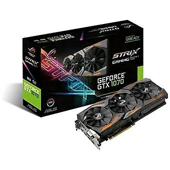 Asus strix-gtx1070-8g-gaming graphics card nvidia geforce gtx1070 8gb gddr5 interface pci-express 3.0 with fans