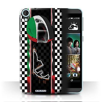 STUFF4 Case/Cover for HTC Desire 820s Dual/Abu Dhabi/Yas Marina/F1 Track Flag