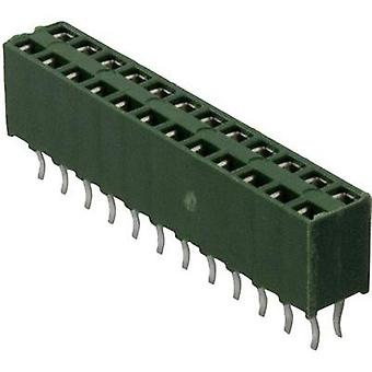 Receptacles (standard) AMPMODU HV-100 Total number of pins 20 TE Connectivity 1-215309-0 Contact spacing: 2.54 mm 1 pc(s