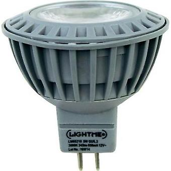 LED GU5.3 Reflector 5 W = 28 W Warm white (Ø x L) 50 mm x 45 mm EEC: A+ LightMe 1 pc(s)