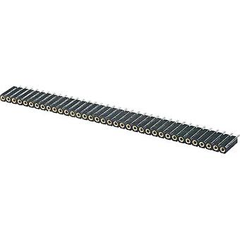 W & P Products 153-036-1-50-10 Precision Socket Terminal Strip Number of pins: 1 x 36 Nominal current: 3 A