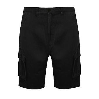 BadRhino svart Cargo Shorts