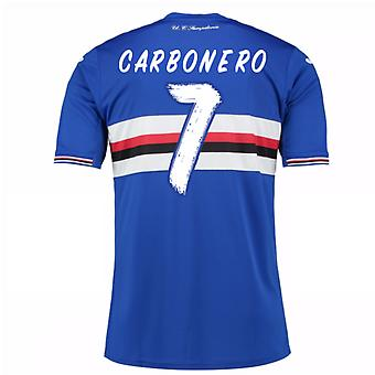 2016 / 17 Sampdoria Home Shirt (Carbonero 7) - Kinder