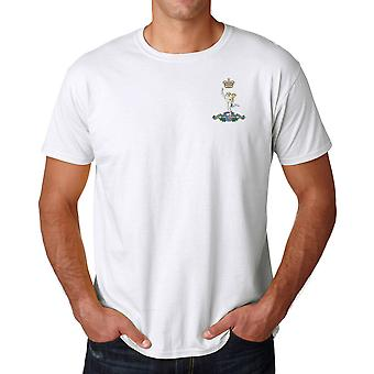 Royal Signals Embroidered Logo - Official British Army Cotton T Shirt