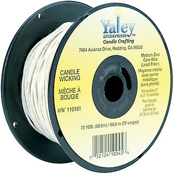 Candle Wicking Spool 75yd-Medium Wire 110161