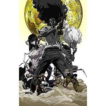 Afro Samurai Resurrection Movie Poster (11 x 17)